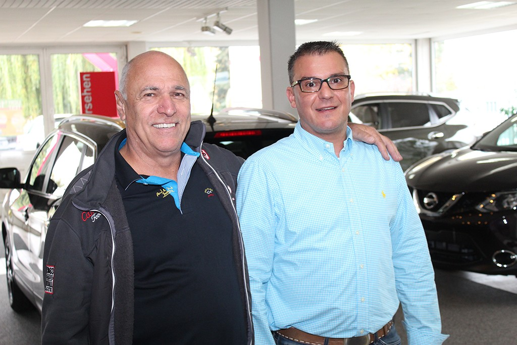 Firmengründer Rainer Griesser und Achim Mörschel.