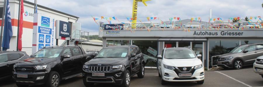 Willkommen im Autohaus Griesser
